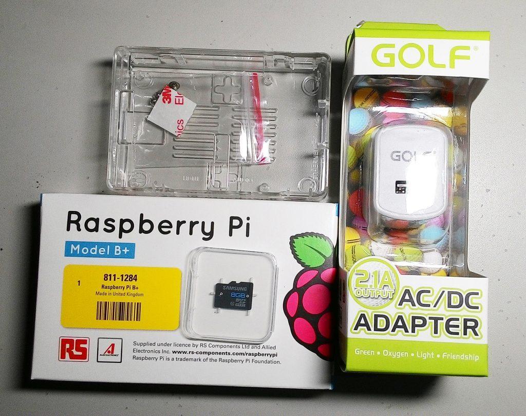 Bộ sản phẩm Raspberry Pi B+ Starter KIT