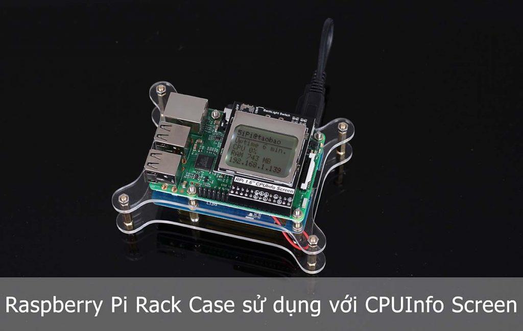 Sử dụng cùng với Raspberry Pi CPUInfo Screen
