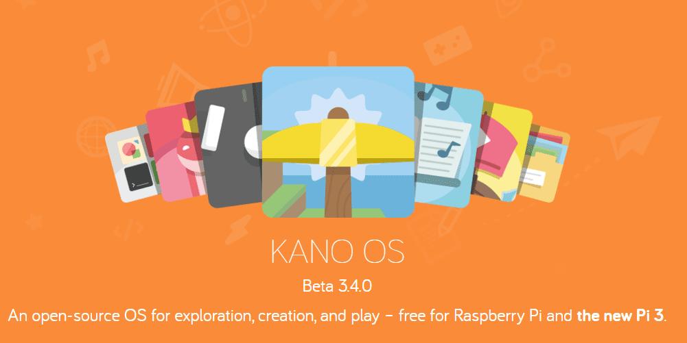 KANO OS thêm một hệ điều hành cho Raspberry Pi