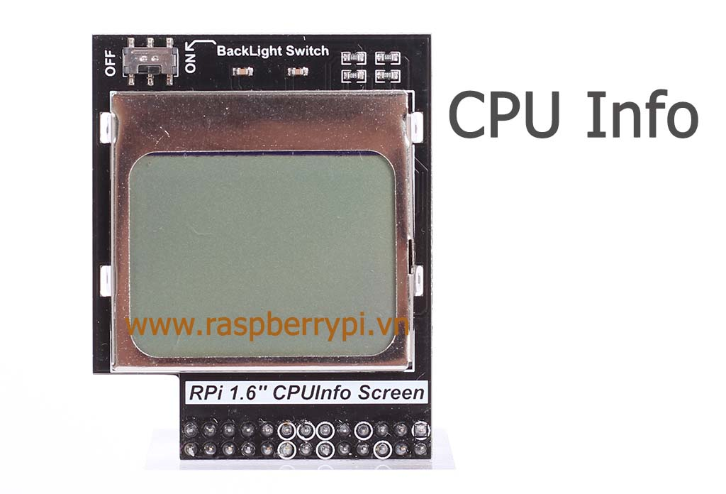 Mặt trước CPUInfo Screen