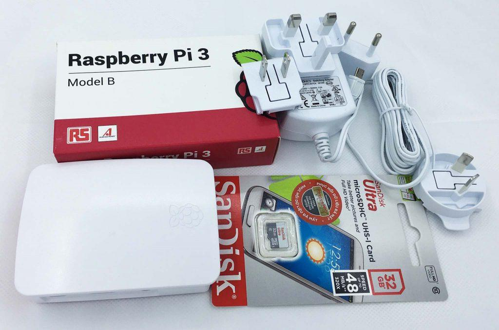 Raspberry Pi 3 Official Combo