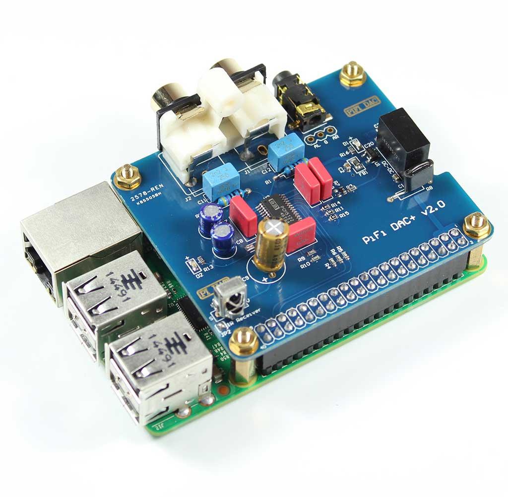 Raspberry Pi Pifi DAC+