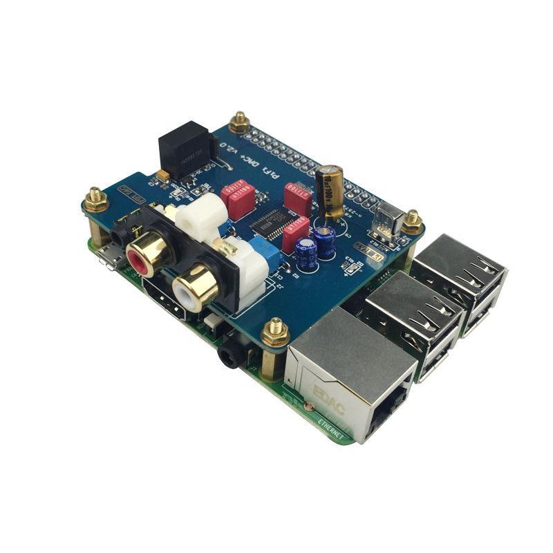 Bạn cần lắp ráp Pifi DAC+ vào mạch Raspberry Pi trước