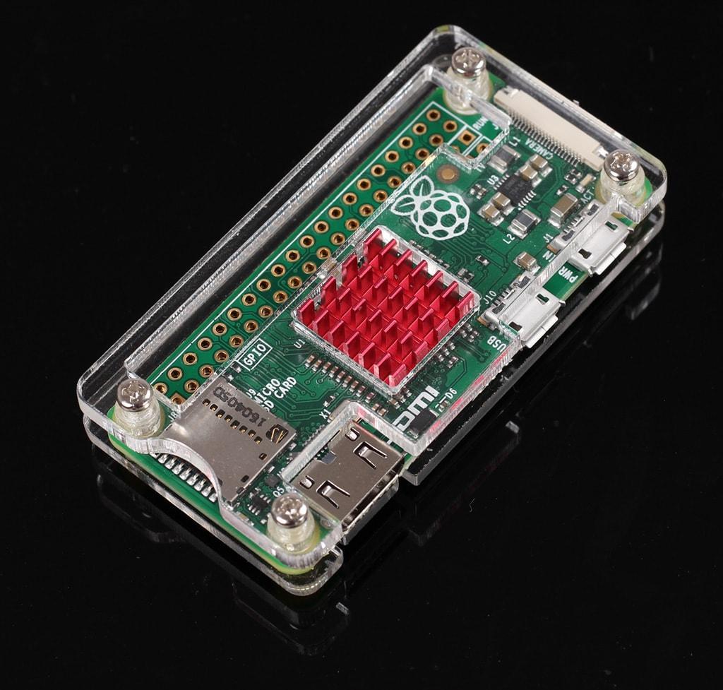 Vỏ case mica Raspberry Pi Zero W