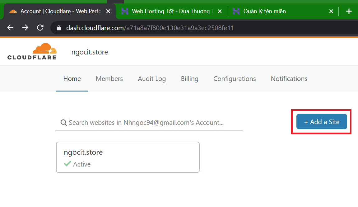 DynDNS với Cloudflare